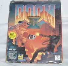 VINTAGE Doom II Poster PC Game Big Box Computer Video Game 1994