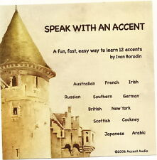 Speak with an Accent CD - 12 accents on one disc!