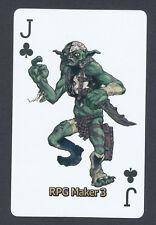 AgeTek RPG Maker 3 video game promo playing card single - 1 card