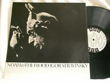 IGOR STRAVINSKY Noah & The Flood Robert Craft Columbia 6 eye 1 sided promo LP