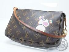 Sale! AUTH PRE-OWNED LOUIS VUITTON PANDA POCHETTE ACCESSOIRES BAG M51981 153588