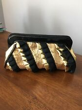 Betsey Johnson Clutch , Gold Clutch
