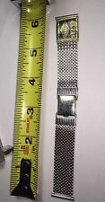 Old Stock Rare Vintage Lenox Watch Band 19mm 1/20th Gf White Gold