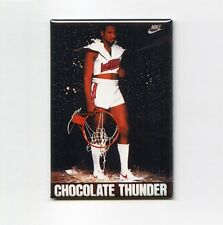 DARRYL DAWKINS - CHOCOLATE THUNDER MINI POSTER FRIDGE MAGNET (nike 1991 sixers)