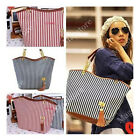 Marine Umhängetasche Handtasche Shopper Tasche Strandtasche Damen Vintage BAG