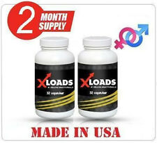 (2) XLOADS ULTRA from the Makers of Naturally Huge - Increasing orgasm intensity