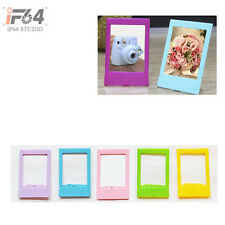 5pcs Instax Mini Polaroid Photo Paper frame Wood Clothespin DIY Deco String