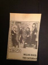 K3-3 Ephemera 1974 Picture Thanet Millies Disco Pop Group Hector