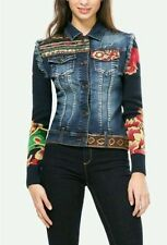 DESIGUAL *  T. 36, 38 ó 46 - JACKET - CHAQUETA DENIM CECI. NEW