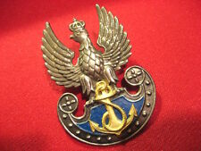 Poland Polish NAVY Cap Badge for officers