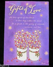 Leanin Tree Christmas Greeting Card Gifts Of Love Multi Color C54
