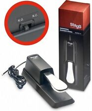 Stagg SUSPED 10 High Quality Sustain Pedal For Keyboard & Digital Pianos