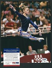 """ALICIA SACRAMONE signed 8""""x10"""" photograph PSA Authenticated Olympic Silver"""