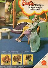 Pubblicità Advertising MATTEL 1973 BARBIE Coiffure (2)