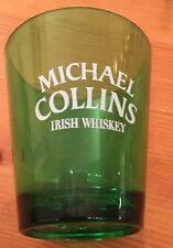 NEW Michael Collins Irish Whiskey Green Shot Glass St Paddy Saint Patrick