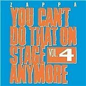 Frank Zappa - You Can't Do That on Stage Anymore, Vol. 4 (Live Recording, 2012)