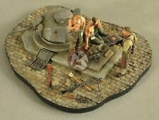 Verlinden 1/35 Normandy Bunker 1944 Vignette with Base WWII (3 Figures) 2617
