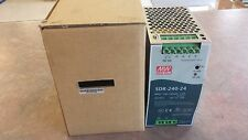SDR-240-24 Meanwell   Power Supply AC/DC Single-OUT 24V 10A      NSFP