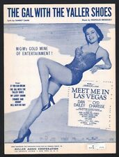 The Gal With The Yaller Shoes 1956 Cyd Charisse in Meet Me In Las Vegas