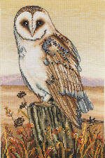 Anchor Counted Cross Stitch Kit - Owl Horizon