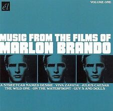 Music From The Films Of Marlon Brando (CD, el IMport, D) On the Waterfront - LN