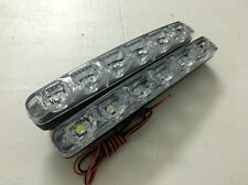2x 6LED Car Daytime Running Light LED DRL Fog Bright Car Warning Lamp