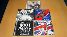 Job Lot of 5 x Oi! CD's - (Boot Party, Champion, The Business, Crashed Out)