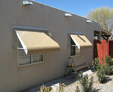 Clam Shell Awning Shutters