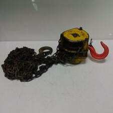 NEW ENGLAND CRANE HOIST CHAIN FALL
