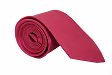 Mens 7.5cm Chunky Thick Tie Purple Blue Grey Gold White Champagne Pink Red Blue