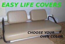 CLUB CAR DS GOLF CART CUSTOM SEAT COVERS FRONT STAPLE ON #59