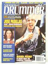 MODERN DRUMMER MAGAZINE JOSE PASILLAS INCUBUS MIKE LUCE BILLY KILSON VERY R