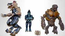 Halo Creature Figure Lot McFarlane Video Game Toys Shoot Em Up