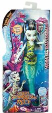 Monster High Gran scarrier Reef glowsome ghoulfish Frankie Stein Doll