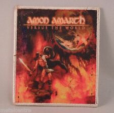 AMON AMARTH Versus The World (WHITE Border Printed Patch) (NEW)