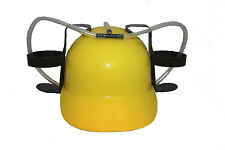 YELLOW DRINKING HAT ,  FOR ADULTS & KIDS .. NEW