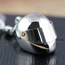 Cool Metal Auto Moto Bici Casco Motor 3D Llavero Llavero Anillo de La Cadena