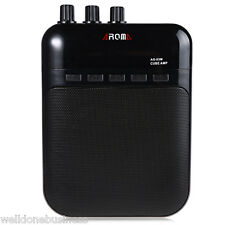 AROMA AG - 03M Portable Charging 3W Mini Guitar Amplifier With TF Card Function