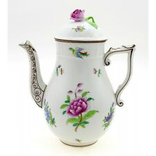 Vintage Hungarian Porcelain Herend Coffee Pot