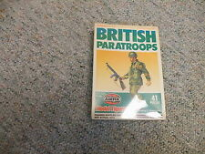 Airfix 1/72 WW2 British Paratroops Paratroopers 1981 isuue tall box