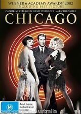 Chicago = NEW DVD MUSICAL Renée Zellweger Catherine Zeta-Jones Richard Gere R4