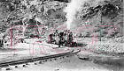 Colorado & Southern (C&S) Engines 70 & 73 on Wye at Silver Plume in 1938 - 8x10