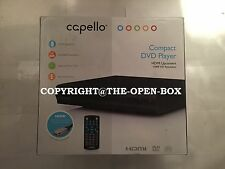 Capello HDMI Upconverting DVD Player / Progressive Scan 1080p HD Video / BLACK