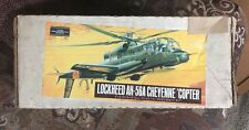RARE ☆ AURORA LOCKHEED ☆ AH-56A CHEYENNE COPTER ☆ 1:72 Unbuilt Model Kit  ☆  NIB