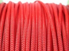 """3mm (1/8"""") Expandable Braided PET Cable Sleeving 3 weave High densely PC Modding"""