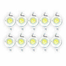 10pcs 3W High Power white 6000k 6500K LED CHIP