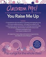 Classroom Pops You Raise Me Up Learn to Play EASY PIANO Guitar PVG Music Book