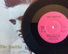 "THE SMITHS -Shoplifters- Rare UK 7"" with SOLID Centre +Pic Sleeve (Vinyl Record)"