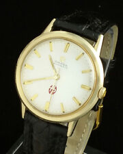 VINTAGE OMEGA 550 AUTOMATIC MENS WRIST WATCH – RARE HEYL PATTERSON ADV DIAL