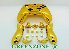 Gold Chrome Xbox One Replacement Custom Controller Shell Mod Kit + Buttons